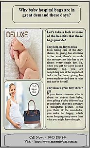 A Guide to Packing your baby's Hospital Bag