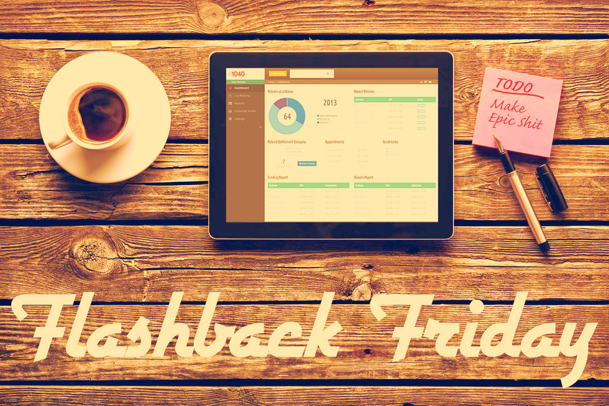 Headline for Flashback Friday (Jan 4 -8): Best Articles in UX, Design & Ecommerce This Week