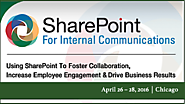 April 26-28 - SharePoint for Internal Communications