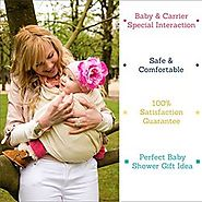 Baby More Baby Wrap Adjustable to All Sizes Baby Carrier Sling - Blue - Check Back Soon