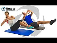 24 Minute At Home Abs Workout - Ab Blasting Interval Workout