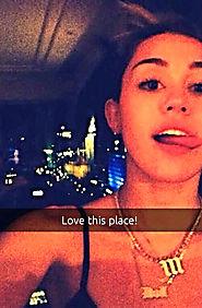 Miley Cyrus Snapchat Name