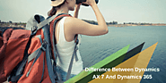Difference between Dynamics AX 7 and Dynamics 365: A Fresh Outlook!