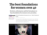 Foundation for Women Over 40 on Flipboard