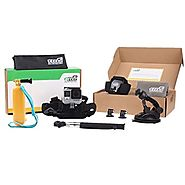 EEEKit Accessories Starter Kit for All GoPro HERO 4 3+ 3 2 1 Session LCD Black Silver. Selfie Pole, Car Mount, Head/C...