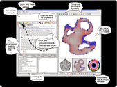 Circlepack is a c program for the creation, display, manipulation, and storage of circle packings using the x window ...