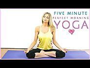 Morning Yoga Perfection | 5 Minute Miracle | Rise & Shine Sleepy Bear Yoga