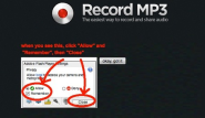 Record mp3: record live audio and get an mp3