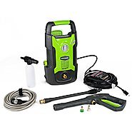 GreenWorks GW1501 1,500 PSI 1.2 GPM 13AMP Hand Carry Electric Pressure Washer