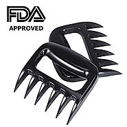 Pulled Pork Shredder Meat Claws - STRONGEST BBQ MEAT FORKS - Handlers Shredding Forks Smoked BBQ Meat Grilling Access...