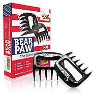 Best BBQ Meat Claws Shredder Bear Claw Tool Carving Fork Meat Handing Claw