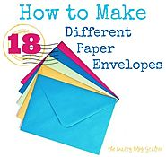 How To Make Paper Envelopes - The Crafty Blog Stalker