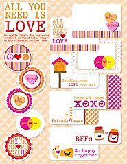 Valentine's Day Labels – all you need is Love | Worldlabel Blog