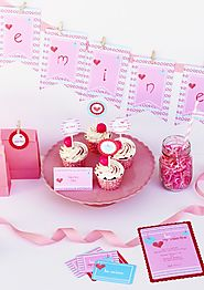FREE Valentine's Day Party Printables from Paper & Pigtails