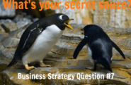 Business Strategy Question #07: What is your secret sauce?