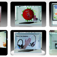 Transparent LCD Showcase on Rentals, a Better Option for a Business