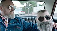 Mercedes-Benz's Hilariously Fun Fashion Week Ad Stars Michel Gaubert and His Mini-Me