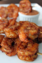 Cajun Spiced Grilled Shrimp On-a-Stick