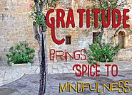 Gratitude Brings Spice To Mindfulness