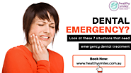 7 Situations that Need an Emergency Dental Treatment