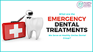 Emergency Dental Treatments We Serve at Healthy Smiles Dental Group