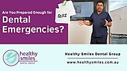 Quiz: Are You Prepared Enough for Dental Emergencies?