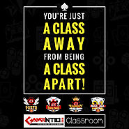 You're Just a Class Away From Being a Class Apart!