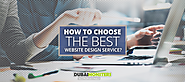 How to Choose the Best Website Design Service -