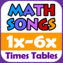 Math Songs: Times Tables 1x - 6x