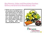 Buy Flowers Online and send it to Ahmedabad, India
