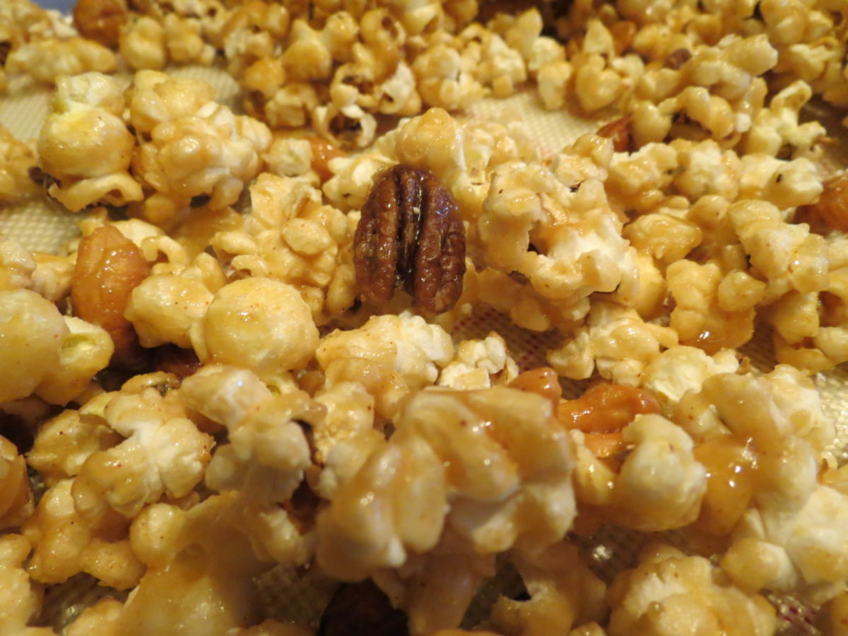 Headline for Caramel Corn Recipes