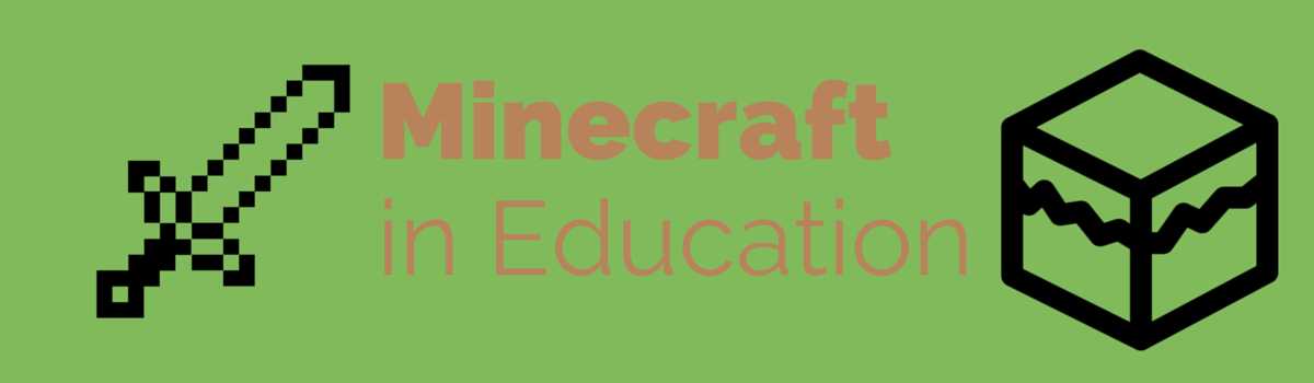 Headline for Minecraft in Education