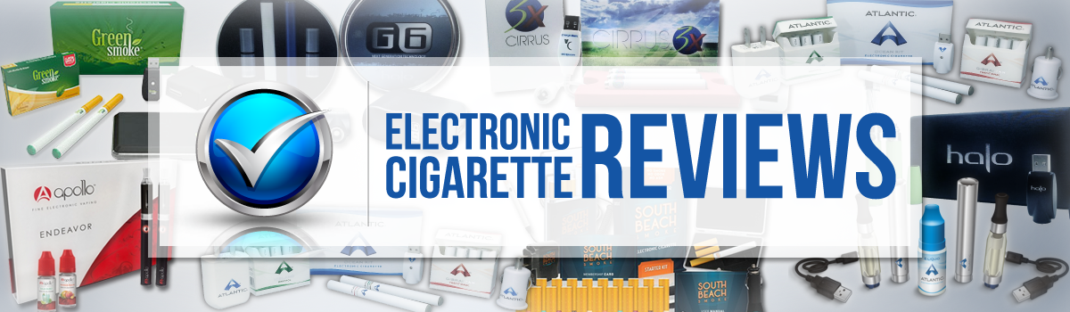 Headline for Electronic Cigarette Reviews