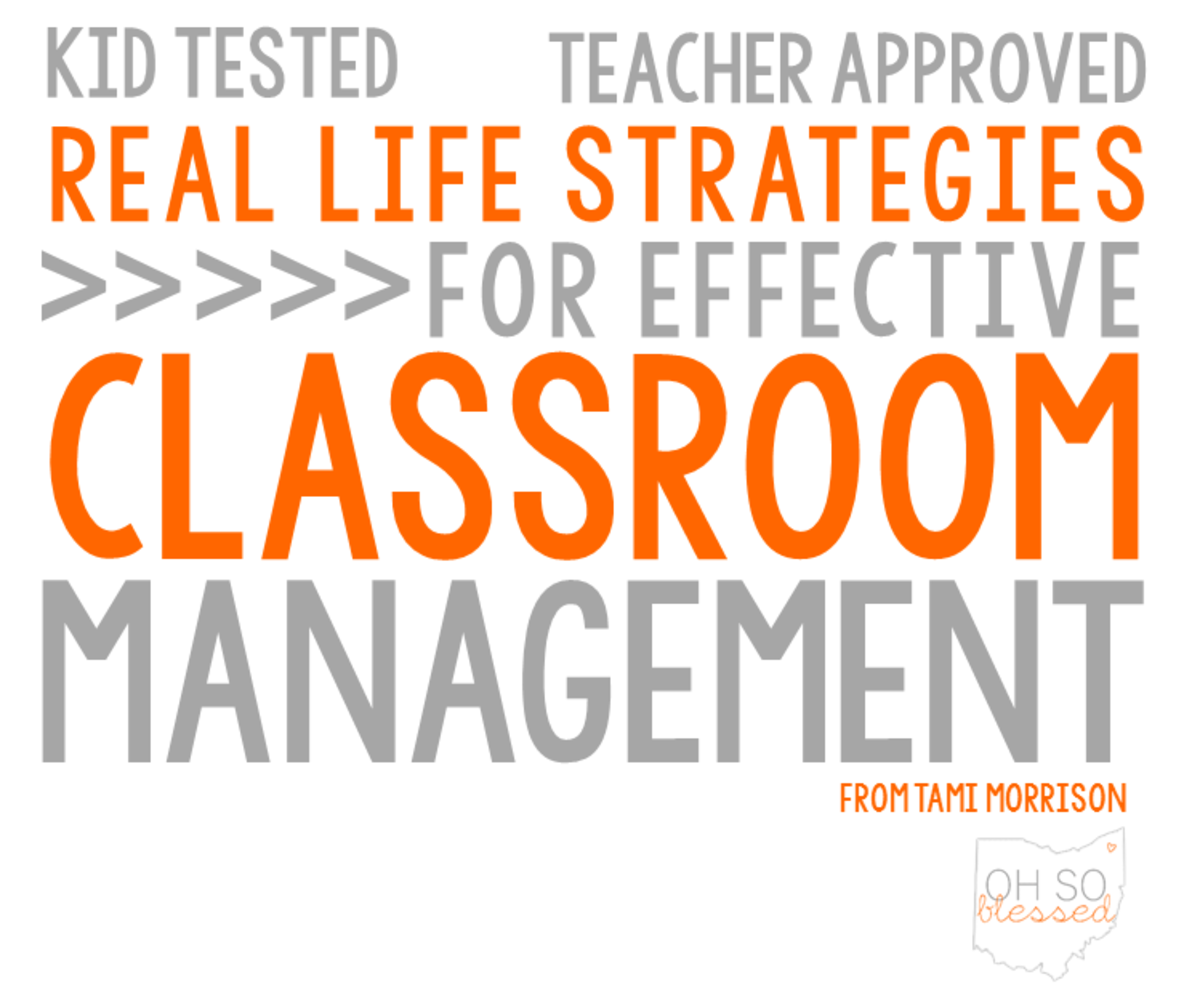 Headline for Classroom Management