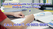 Buy a thesis | Thesis writer in chandigarh - Techsparks