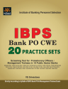 IBPS Bank PO 20 Practice Sets For Recruitment of Probationary Officers/Management Trainees in 19 Public Sector Banks ...