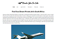 Private Jets For Sale In South Africa - The #1 Private Jets & Aircraft For Sale Website In South Africa