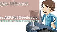 Hire asp.net Developers in Getting the Enhancements Done