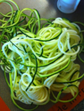 How To Make Spiral Zucchini and Zucchini Noodles