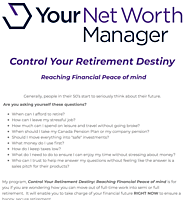 Need Retirement Advice? Try My RetireSmart Programme.