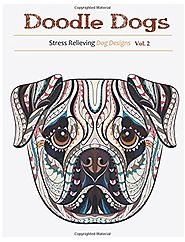 Coloring Books For Adults-Dogs