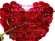 Express your Love with Flowers in UAE