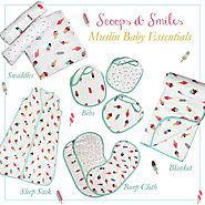 View the Muslin swaddle collections Sets Online at Little West Street