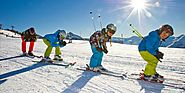 Undivided Attention To Self And Family: Ski Camping