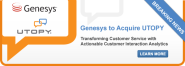 Utopy sold for undisclosed amount to Genesys (2013)