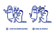 LOOK IKEA simplifies your complicated love problems