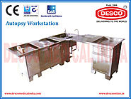 Stainless Steel Autopsy Workstation