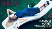 Marissa Mayer Explains Why She Posed Upside Down In That Vogue Spread
