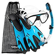 Phantom Aquatics Navigator Mask Fin Snorkel Set
