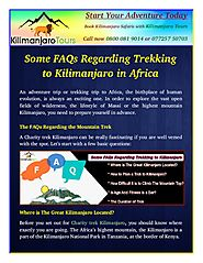 Duration of Trek on Mount Kilimanjaro